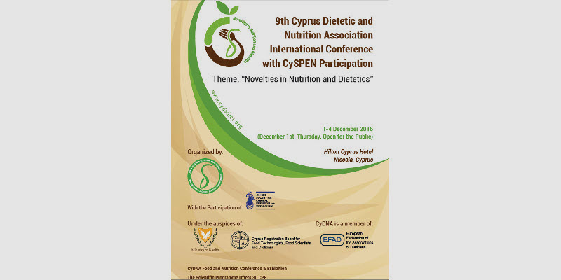 9th Cyprus Dietetic International Conference