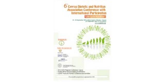 6th Cyprus Dietetic and Nutrition Association Conference with International participation (23-26 September 2010)