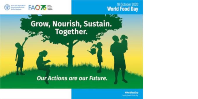 Ανακοίνωση Συνδέσμου Διαιτολόγων και Διατροφολόγων Κύπρου για την Παγκόσμια Ημέρα Τροφίμων (16/10/2020)